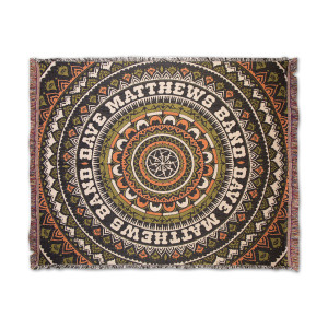 Firedancer Mandala Throw Blanket