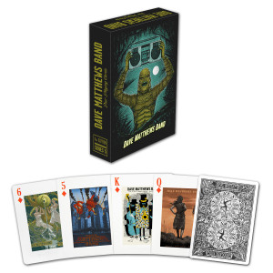 DMB 2014 Tour Poster Playing Cards