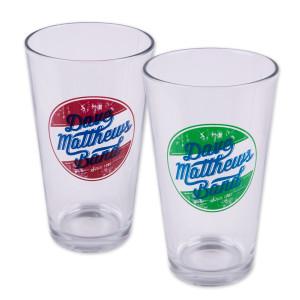 DMB Circle Logo Pint Glass Set (2)