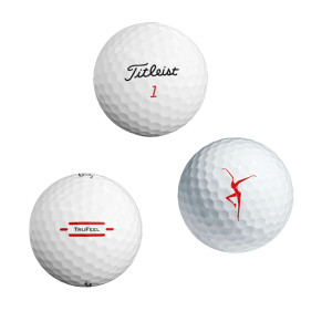 DMB Firedancer 3-Pack Titleist DT SoLo Golf Balls
