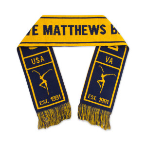 DMB Est. 91 Knit Scarf - Blue/Gold