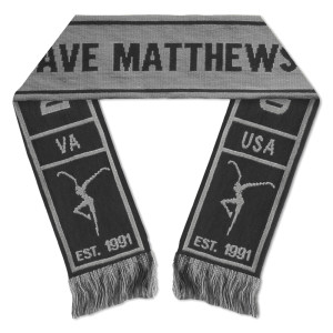 DMB Est. 91 Knit Scarf - Black/Grey