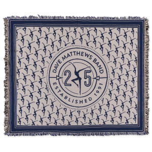 25th Anniversary Woven Throw