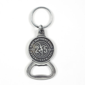 DMB 25th Anniversary Bottle Opener Keychain