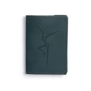 DMB Firedancer Emossed Leather Passport Wallet