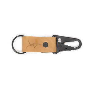 DMB Leather Clip Keychain
