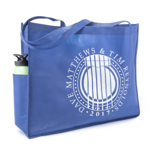 Dave & Tim Tour Tote Blue