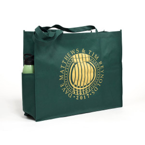 Dave & Tim Tour Tote Green