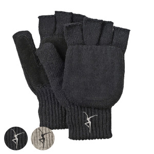 Firedancer Fingerless Wool Gloves