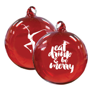 Eat, Drink, & Be Merry Ornament