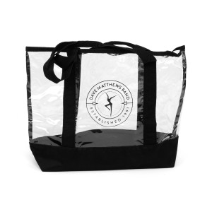 Dave Matthews Band Clear Tote Bag
