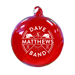 DMB Flag Ornament - Red