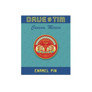 Dave & Tim - Cancun 2020 Sugar Skulls Pin