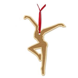 Firedancer Wooden Ornament