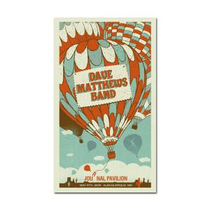 DMB Albuquerque, NM 05/05/09 Show Poster