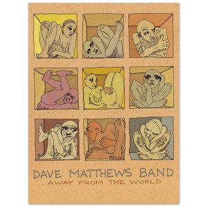 "DMB 'Away From The World' Limited Edition 18"" x 24"" Lithograph"