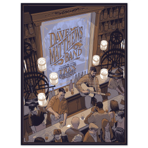 DMB Live Trax Vol. 37 Limited Edition Poster
