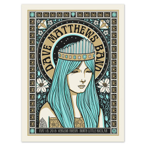 DMB Show Poster – North Little Rock, AR 5/18/2016