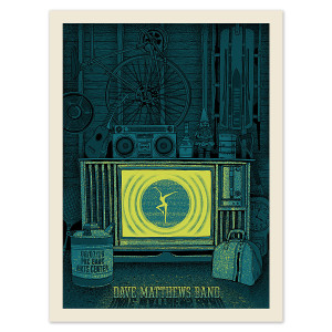DMB Show Poster – Holmdel, New Jersey 6/7/2016