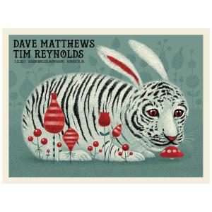 Dave & Tim Show Poster - Alpharetta, GA  5/31/2017