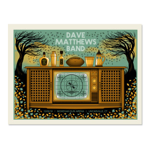 Dave Matthews Band Show Poster - Uncasville, CT 12/2/2018