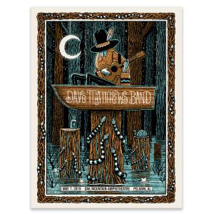 Dave Matthews Band Show Poster - Pelham, AL 5/7/2019