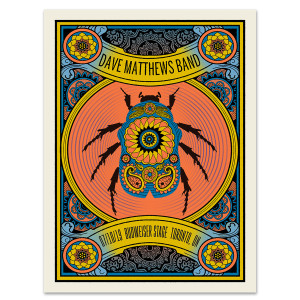 DMB Show Poster Toronto, ON 7/10/2019