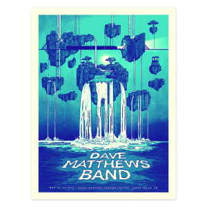 DMB Sioux Falls, SD 2019 Poster