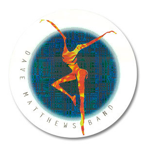 DMB Fire Dancer Sticker Window Sticker