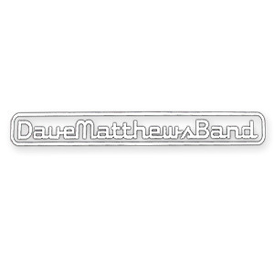 DMB Diecut White Sticker