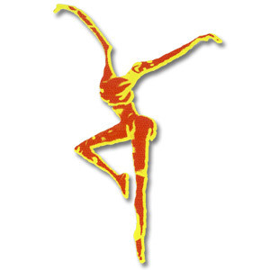 DMB Fire Dancer Die Cut Sticker