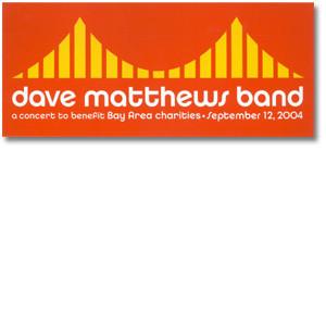 DMB Golden Gate Park Event Sticker