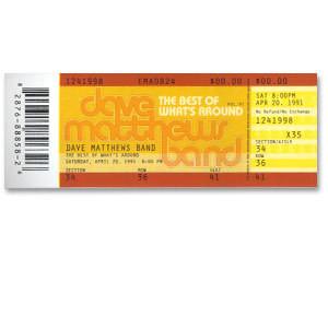 <i>The Best of What's Around</i> Ticket Sticker
