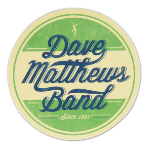 DMB Circle Sticker (Green)