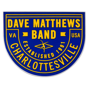 DMB Sticker (Blue/Yellow)