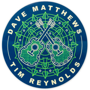 Dave and Tim 2017 Tour Sticker