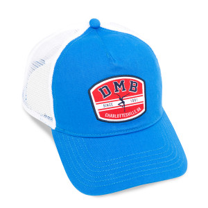 Blue/White Firedancer Trucker Hat