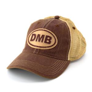 Burgandy Oval Cap