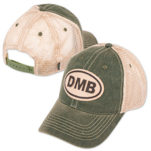 Green Oval Trucker