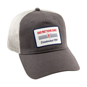 Gray Patch Trucker Hat