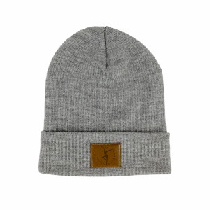 Firedancer Leather Patch Beanie