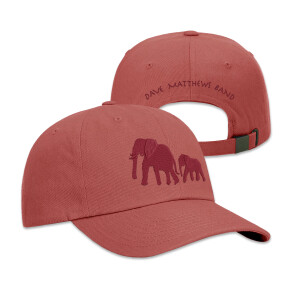 Elephant Dad Hat (Nantucket Red)