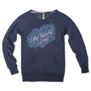 DMB 2013 Ladies Flashdance Sweatshirt