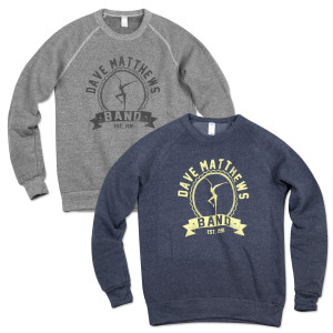 DMB est '91 Firedancer Crew Neck Sweatshirt