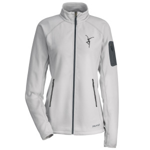 Ladies' Marmot Firedancer Flashpoint Jacket - Platinum