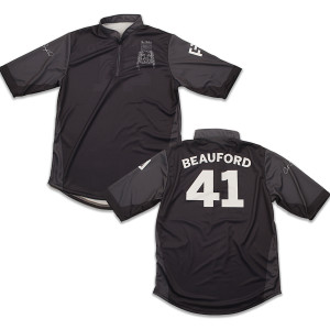 Custom Carter Beauford Jersey Black/Grey