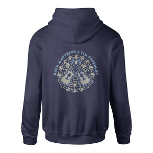 Dave and Tim Guitar Mandala Zip Hoodie