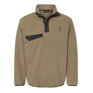 Firedancer Sherpa Fleece Pullover - Moss