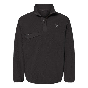 Firedancer Sherpa Fleece Pullover - Black
