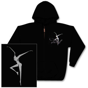 DMB Silver Fire Dancer Zip Up Hoodie